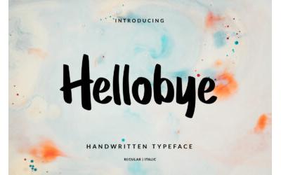 Hellobye Font - DEMO VERSION